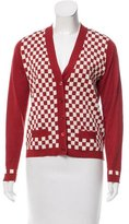 Paul Smith Checkered Silk-Blend Cardigan