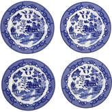 One Kings Lane Willow Decorative Plates - Blue/White