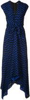 Proenza Schouler draped knot detail dress - women - Silk/Acetate/Viscose - 0