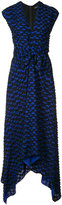 Proenza Schouler draped knot detail dress - women - Silk/Acetate/Viscose - 8