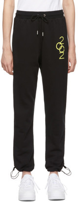Opening Ceremony Black Branded Lounge Pants