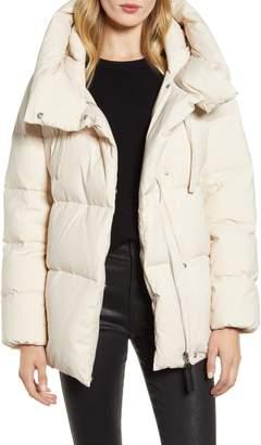 Derek Lam 10 Crosby Oversize Pillow Collar Down Coat