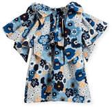 Chloé Mini Me Floral Bow-Shoulder Dress, Sizes 6-10