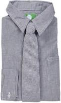 Future Trillionaire Striped Long Sleeve Shirt & Striped Tie (Toddler, Little Boys, & Big Boys)