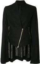 Gareth Pugh zipped jacket - women - Cotton - 42
