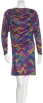 Missoni Draped Knee-Length Dress