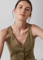 Liza Linen Button Jumpsuit