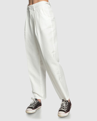 Quiksilver Womens High Waisted Tapered Trousers