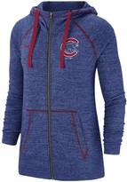 Nike Women's Royal Chicago Cubs Gym Vintage Team Full-Zip Hoodie