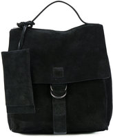 Marsèll buckle backpack - women - Suede - One Size