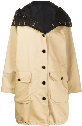 Marni reversible belted trench coat