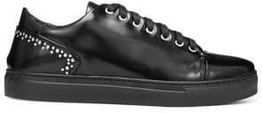 Donald J Pliner ALBENSP Studded Leather Sneakers