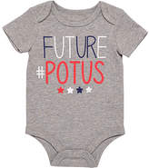 Baby Starters Gray 'Future #POTUS' Bodysuit - Infant