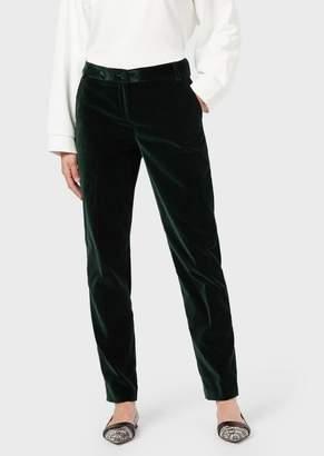 Emporio Armani Velvet Chino Trousers