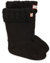 Hunter Girl's Cable Knit Cuff Welly Boot Socks
