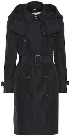 Burberry Detachable hood trench coat