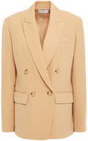 Thumbnail for your product : Vince Double-breasted Crepe Blazer