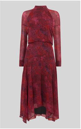 Whistles Abstract Animal Carlotta Dress