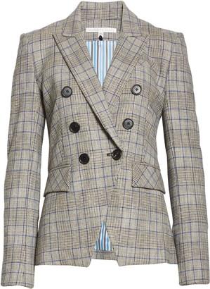 Veronica Beard Miller Glen Plaid Dickey Jacket