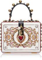 Dolce & Gabbana Embellished Leather Box Bag