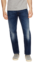 Love Moschino Whiskered Buttoned Slim Fit Jeans