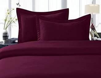 Elegant Comfort 1500 Thread Count Egyptian Quality Super Soft Wrinkle Free 4-Piece Sheet Set
