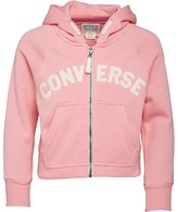Converse Junior Girls Core Hoody Daybreak Pink