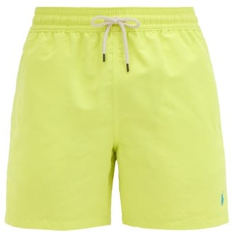 Polo Ralph Lauren Traveler Logo-embroidered Swimshorts - Yellow