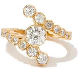 Sophie Bille Brahe Le Grand Rue Diamond & 18kt Gold Ring - Yellow Gold