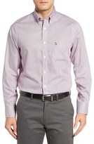 Nordstrom Men's Big & Tall Smartcare(TM) Nailhead Sport Shirt