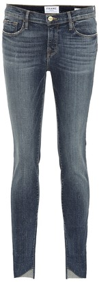 Frame Le Jeanne mid-rise skinny jeans