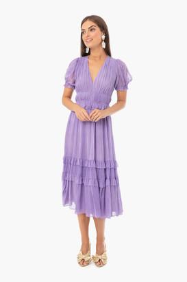 Ulla Johnson Lavender Elodie Dress