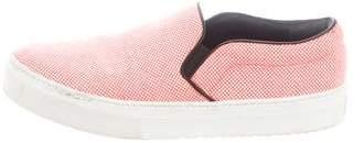 Celine Woven Slip-On Sneakers