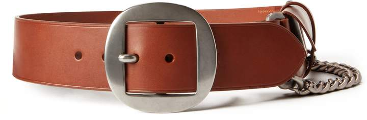"""NEW L RALPH LAUREN Collection leather belt pouch ITALY black $595 33/""""-37/"""" purse"""