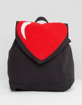 Lazy Oaf Heart Backpack