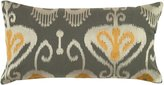 """Rizzy Home Ikat Decorative Pillow, 21 x 11"""""""