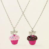 Children's Place B.f.f. cupcake necklaces
