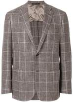 Corneliani checked blazer