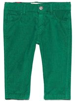 Gucci Straight-Leg Stretch Corduroy Pants, Green, Size 6-36 Months