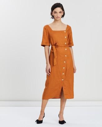 Whistles Ambika Linen Dress