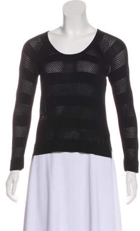 Rag & Bone Crew Neck Lightweight Sweater Black Crew Neck Lightweight Sweater