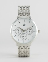 Asos Sleek Large Dial Boyfriend Watch