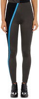 Paco Rabanne WOMEN'S RIBBED-INSET LEGGINGS