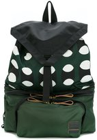 Marni x Porter belt bag rucksack - men - Polyamide/Polyester - One Size