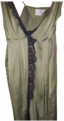 ASOS Khaki Silk Dress for Women