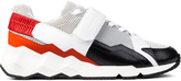 Pierre Hardy Cube Sole With Strap Comet Sneakers