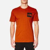 The North Face S/s Fine Tshirt - Tibetan Orange