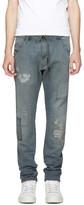 Diesel Blue Krookley CB-Ne Patch Jogg Jeans