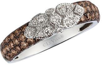LeVian Le Vian 14K 0.73 Ct. Tw. White & Chocolate Diamond Ring