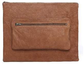 One Fated Knight Camel Oversized Pouch